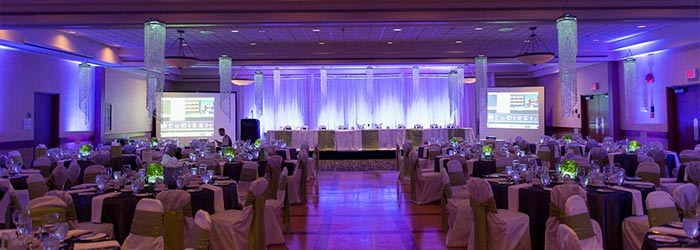 Winnipeg wedding venue reception