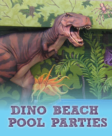 Dino Beach Pool Party