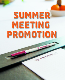 Summer Meetings at the Victoria Inn