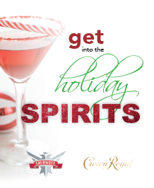 Get into the Holiday Spirits!