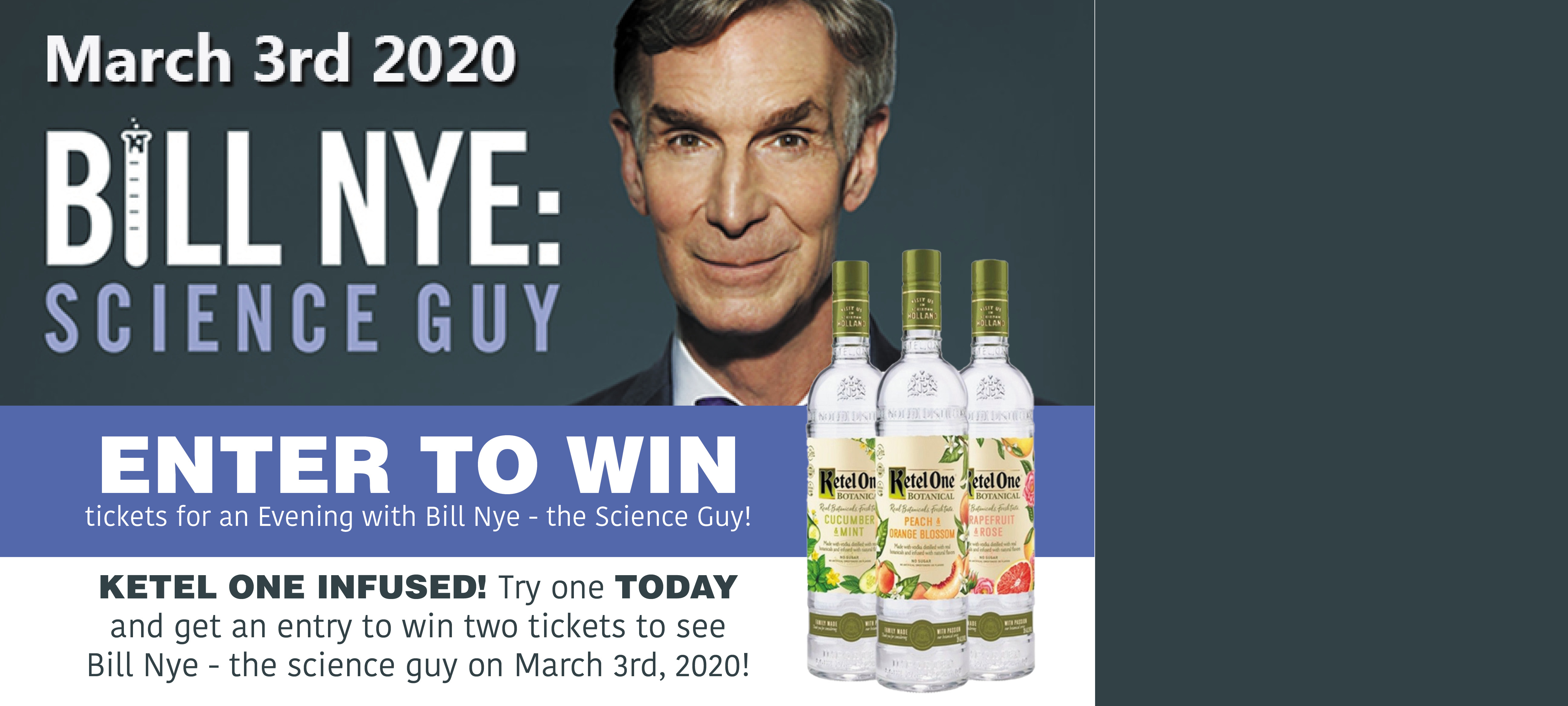 Win Tickets to Bill Nye the Science Guy