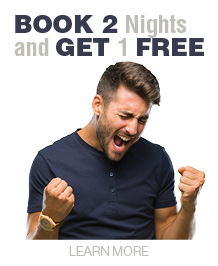 Book 2 Nights and Get 1 FREE