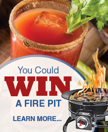 You Could Win A Fire Pit!